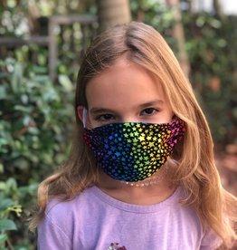 Face Cover - Reversible Kids Reversible Mask Star Denim - Kids