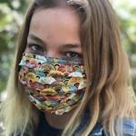 Face Cover - Reversible  -Fans- Adult Med