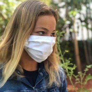Face Cover - Reversible  -CarolinaBlueGoDuke- Adult Med