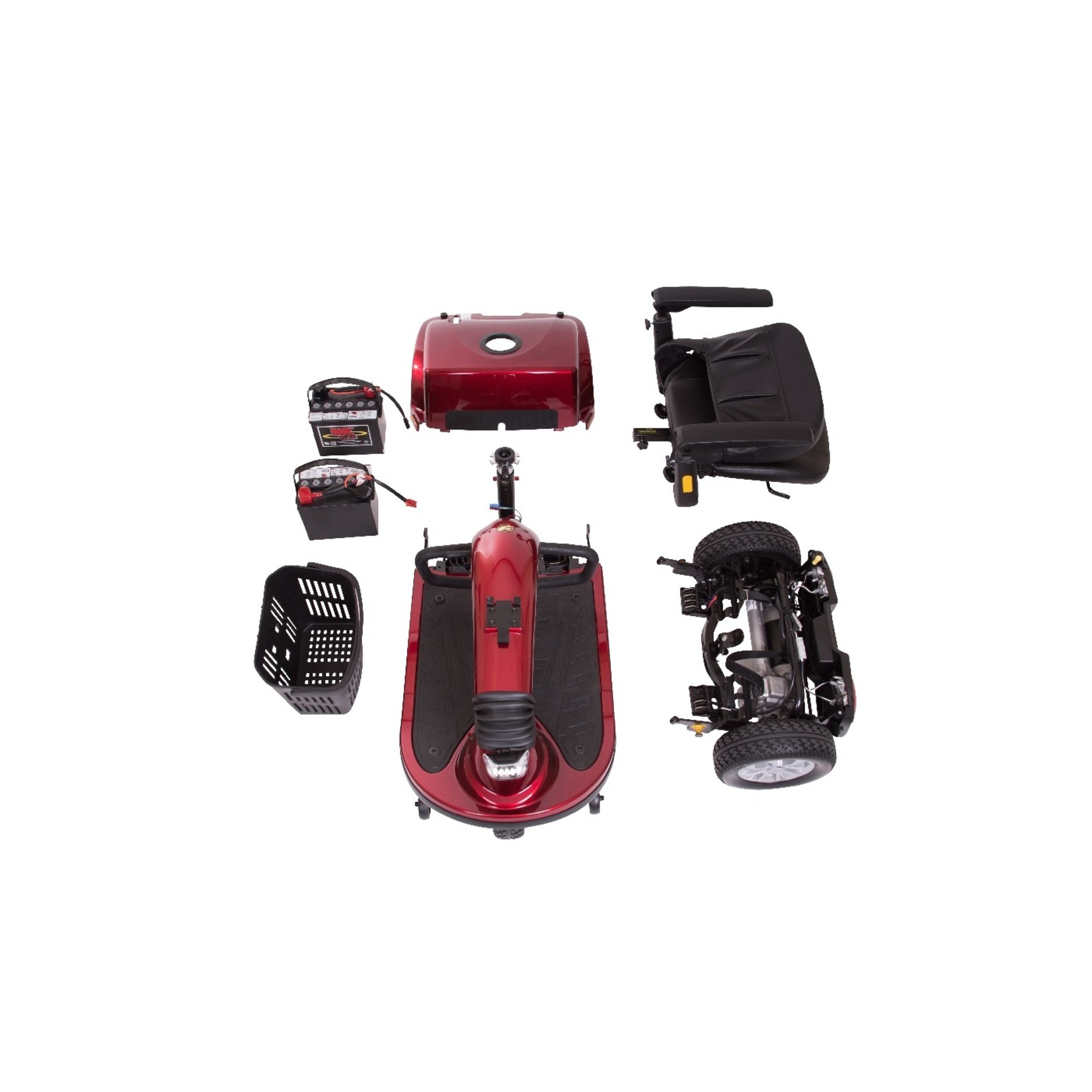 Golden Technologies Companion Mid-Size 3-Wheel Scooters
