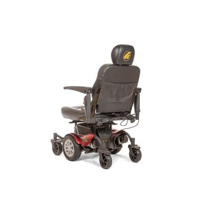 Golden Technologies Compass HD Center-Wheel Drive-Red Power Chair