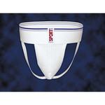 FLA Orthopedics ATHLETIC SUPPORTER SPORT WHITE LG