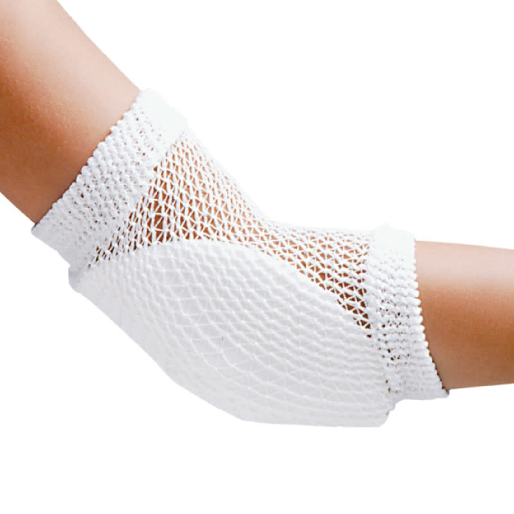 FLA Orthopedics HEEL AND ELBOW PROTECTOR OPEN MESH RETAIL WHITE UN
