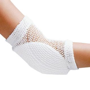 FLA Orthopedics HEEL AND ELBOW PROTECTOR OPEN MESH RETAIL WHITE UN
