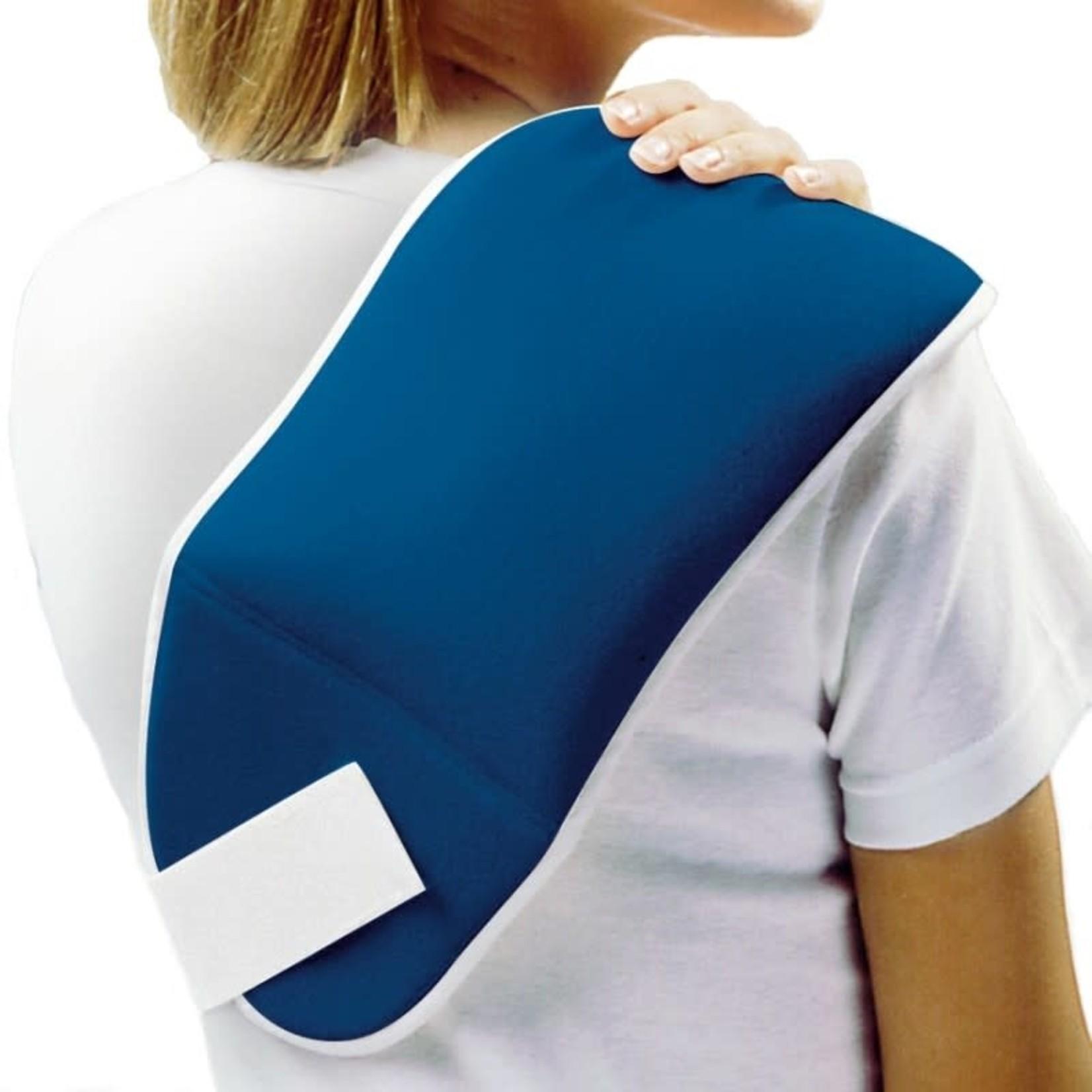 FLA Orthopedics THERMAL WRAP BACK/SHOULDER SIZE  6INX10IN BLUE UN