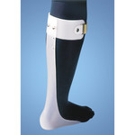 FLA Orthopedics ANKLE FOOT ORTHOSIS/FOOT DROP SPLINT RIGHT WHITE MD