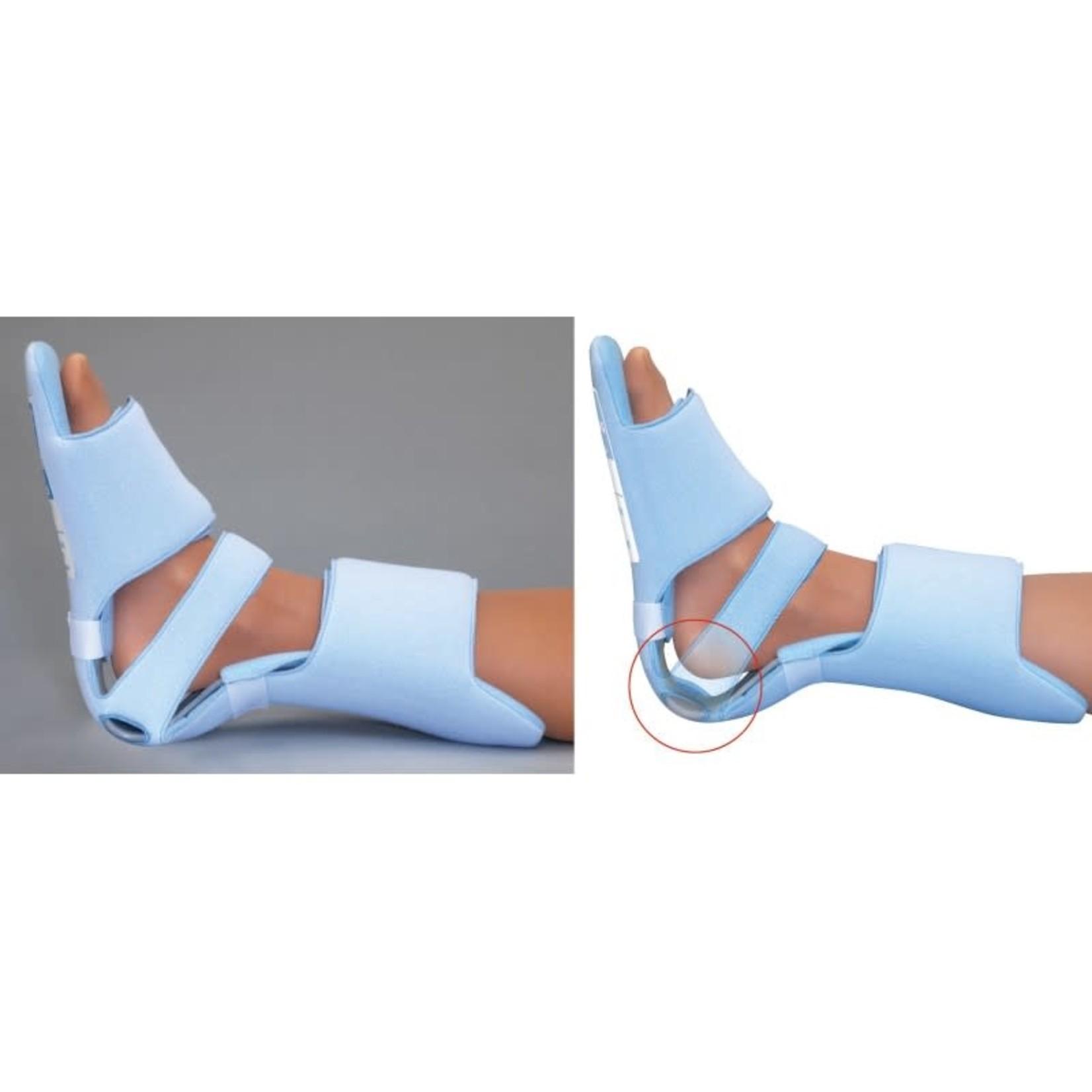 FLA Orthopedics HEALWELL SOFT EASE MULTI AFO/HEEL SUSPENDER BLUE SM/MD