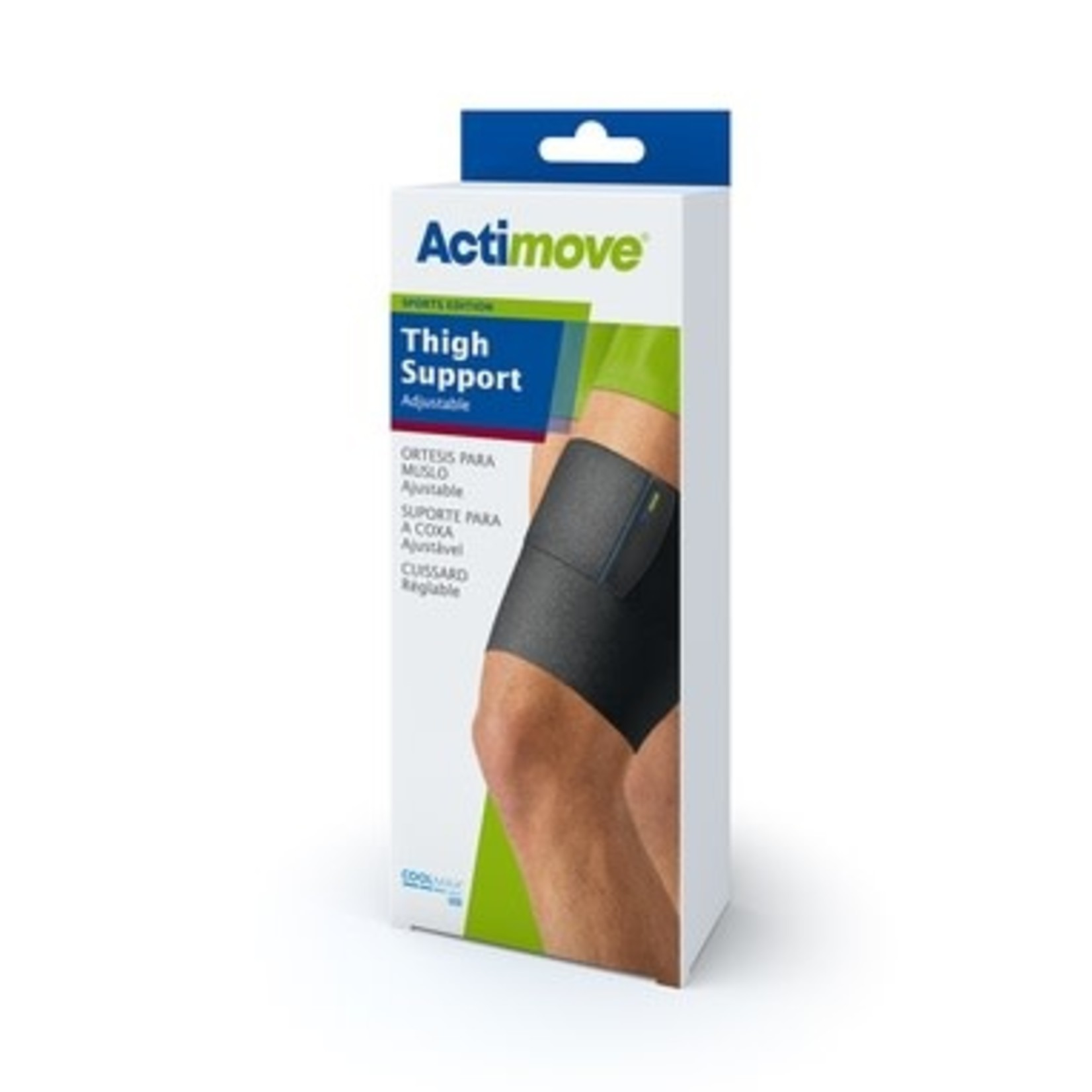 Actimove Actimove Thigh Support Adjustable Universal Black