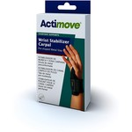 Actimove Actimove Wrist Stabilizer Carpal Pre-Shaped Metal Stay Universal Right/Left Black