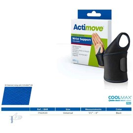 Actimove Actimove Wrist Support Adjustable Universal Black