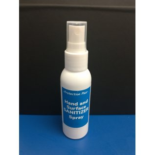 Hand and Surface Sanitizer Spray - 70% - 2 oz