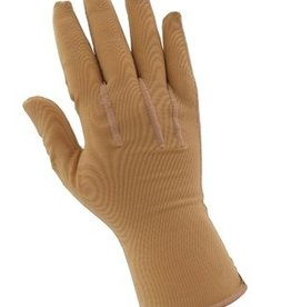 JOBST FULL FINGER COMPRESSION GLOVE BEIGE