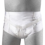 FLA Orthopedics SOFT FORM HERNIA BRIEF WHITE