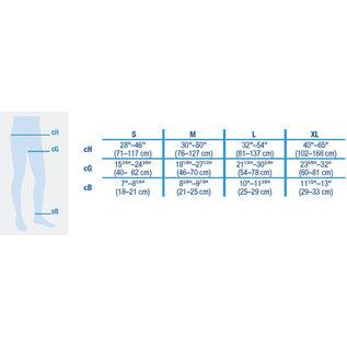 JOBST JOBST ULTRASHEER WAIST 15-20 CLOSED TOE NATURAL
