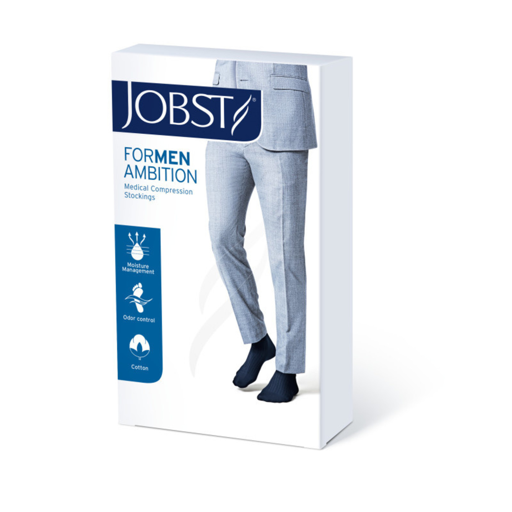 JOBST JOBST FORMEN AMBITION SOFTFIT KNEE 15-20 mmHg