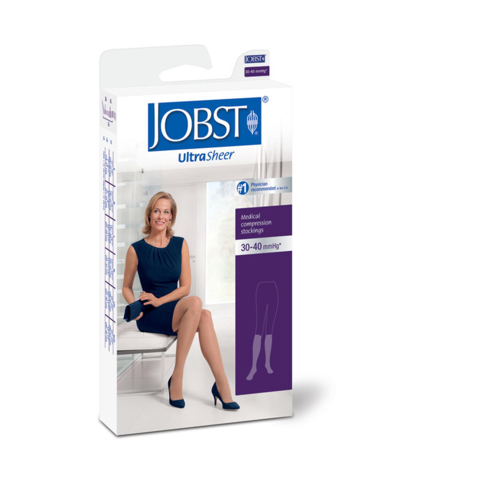 JOBST JOBST ULTRASHEER KNEE CLOSED TOE 30-40 mmHg
