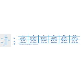 JOBST JOBST ULTRASHEER KNEE CLOSED TOE 20-30 mmHg Compression