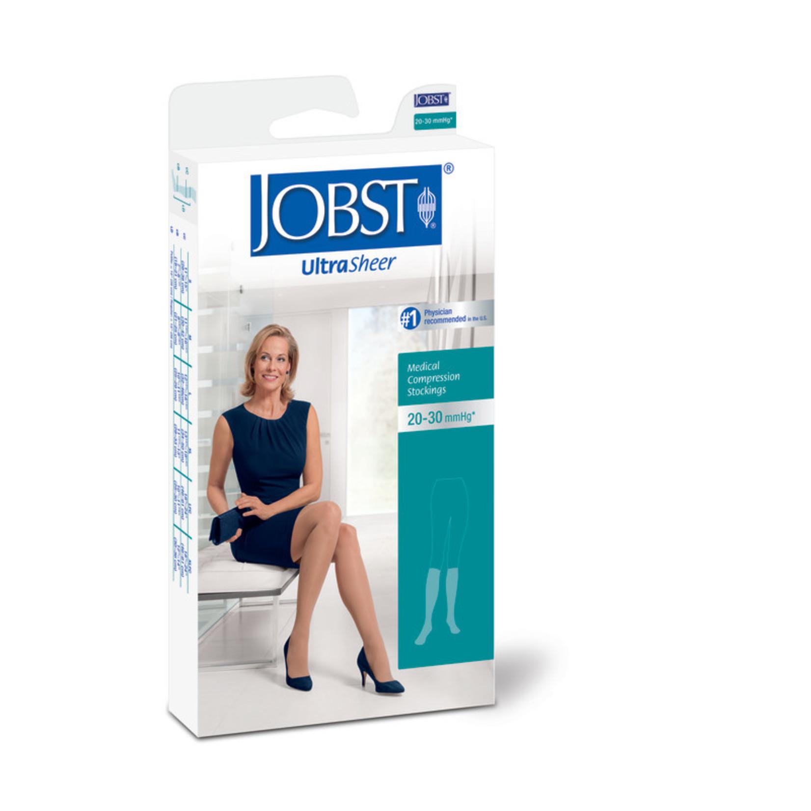 JOBST JOBST ULTRASHEER KNEE CLOSED TOE 20-30 mmHg