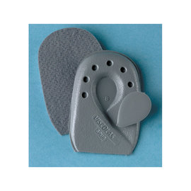 FLA Orthopedics SOFT POINT VISCOLAS HEEL SPUR CUSHION GRAY