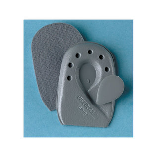 FLA Orthopedics SOFT POINT VISCOLAS HEEL SPUR CUSHION GRAY