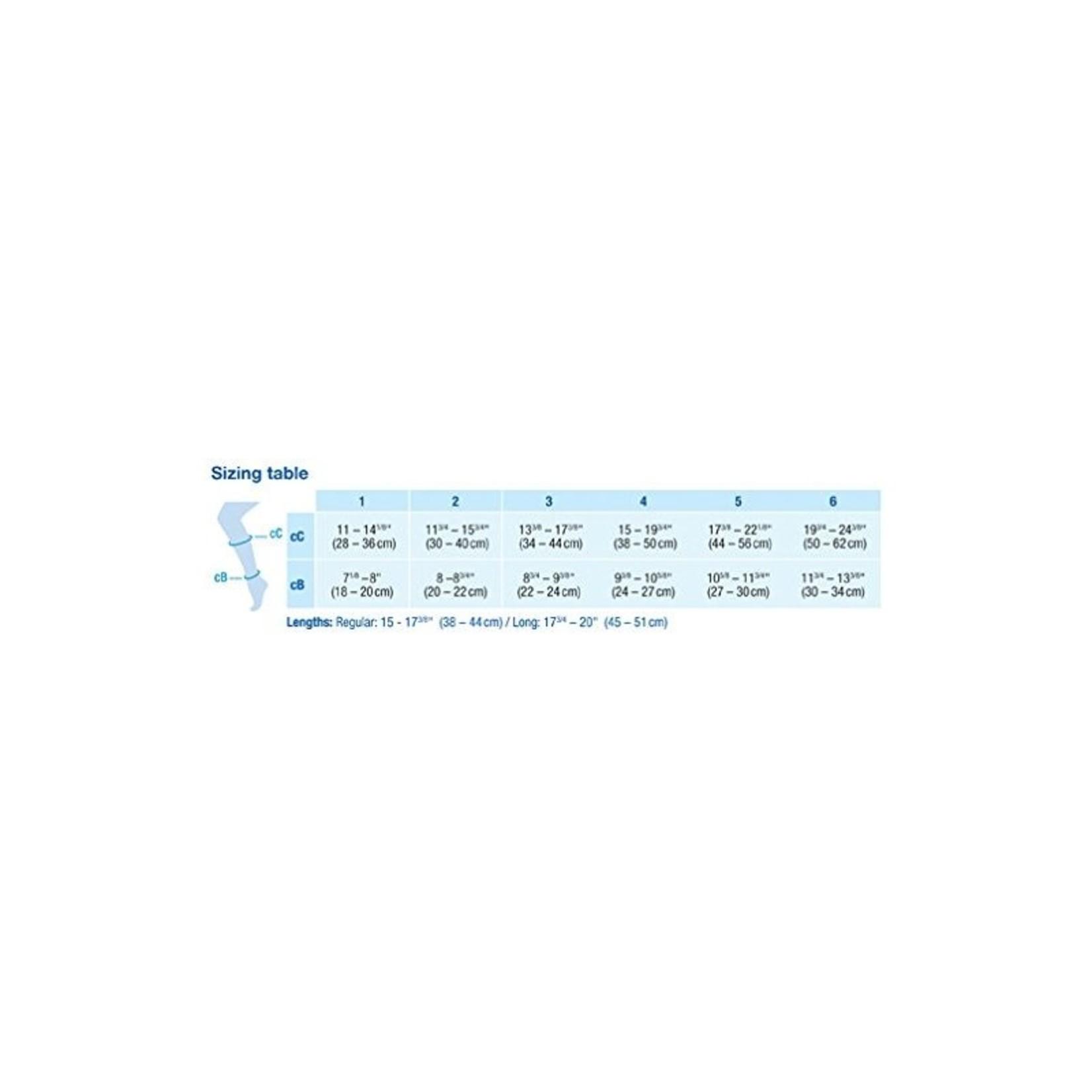 JOBST JOBST FORMEN AMBITION SOFTFIT KNEE 30-40 mmHg