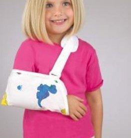 FLA Orthopedics PEDIATRIC ARM SLING HOOK AND LOOP-UNIVERSAL