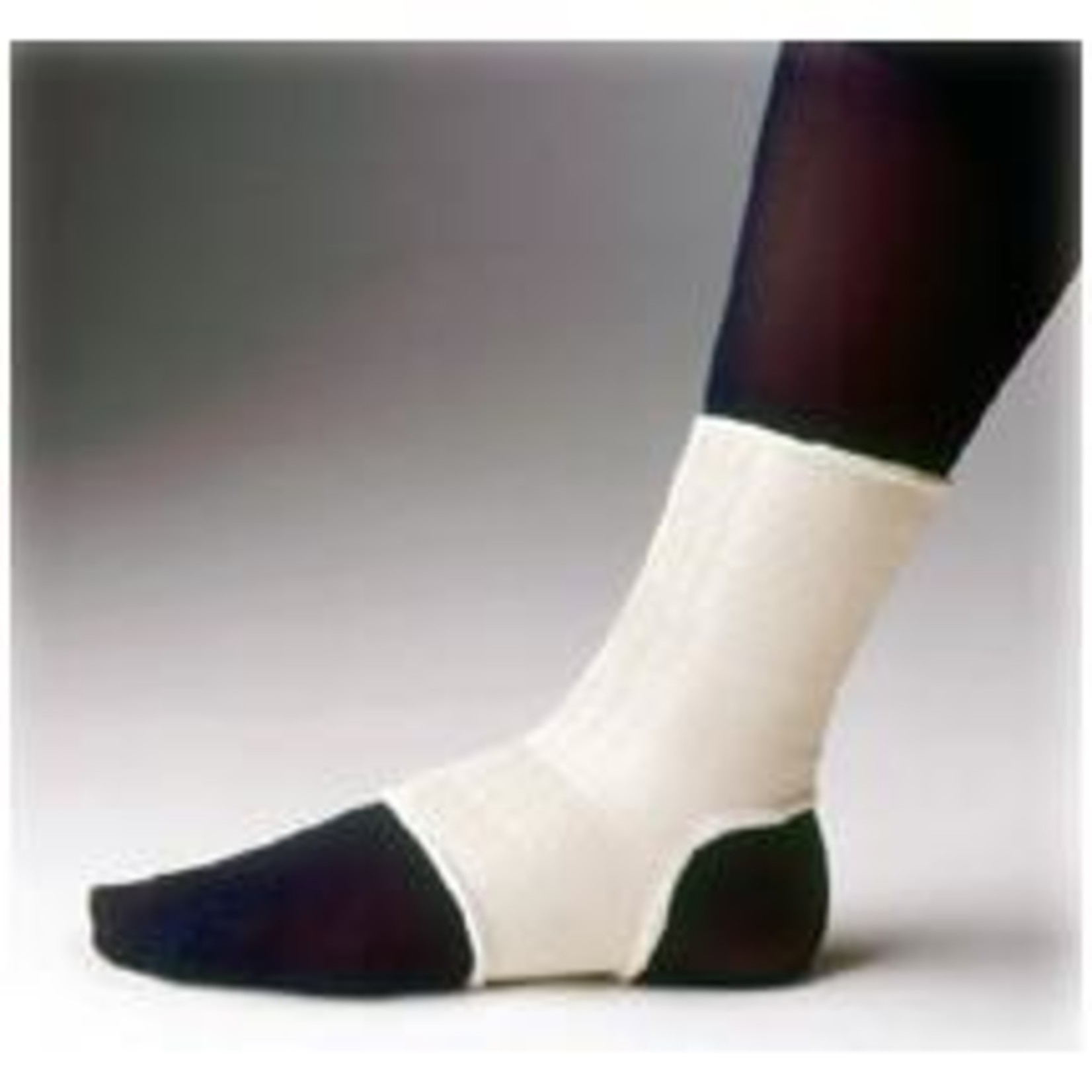 Actifi ELASTIC PULLOVER ANKLE SUPPORT LARGE WHITE