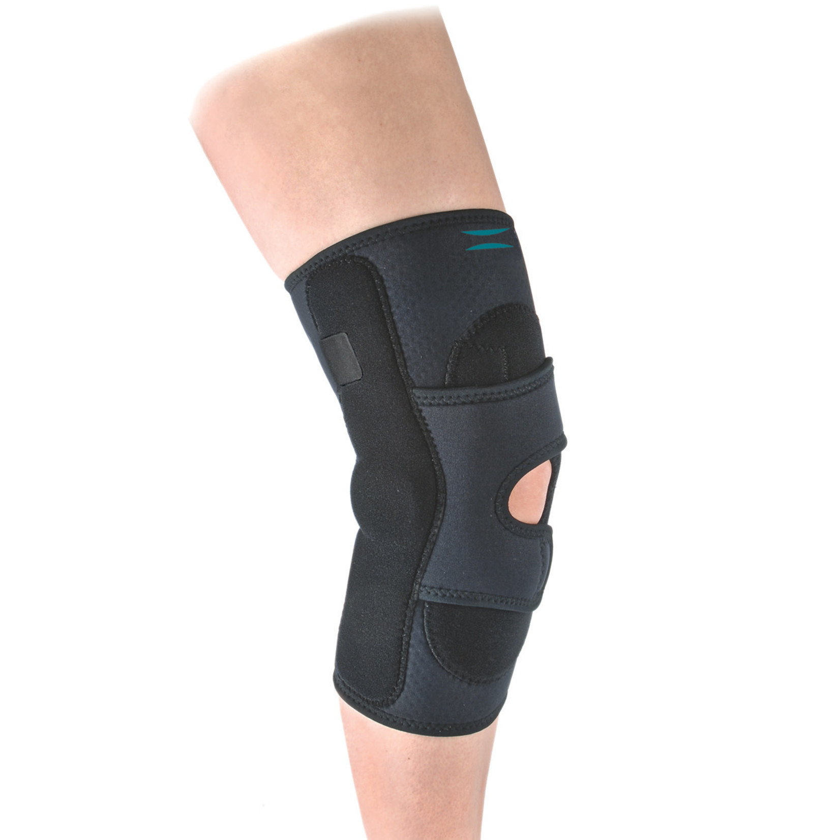 Hely & Weber HINGED LATERAL J STABILIZER - OPEN POPLITEAL W/CONDYLE PADS