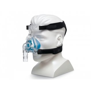 RESPIRONICS ComfortGel Blue Nasal CPAP Mask w/ Headgear