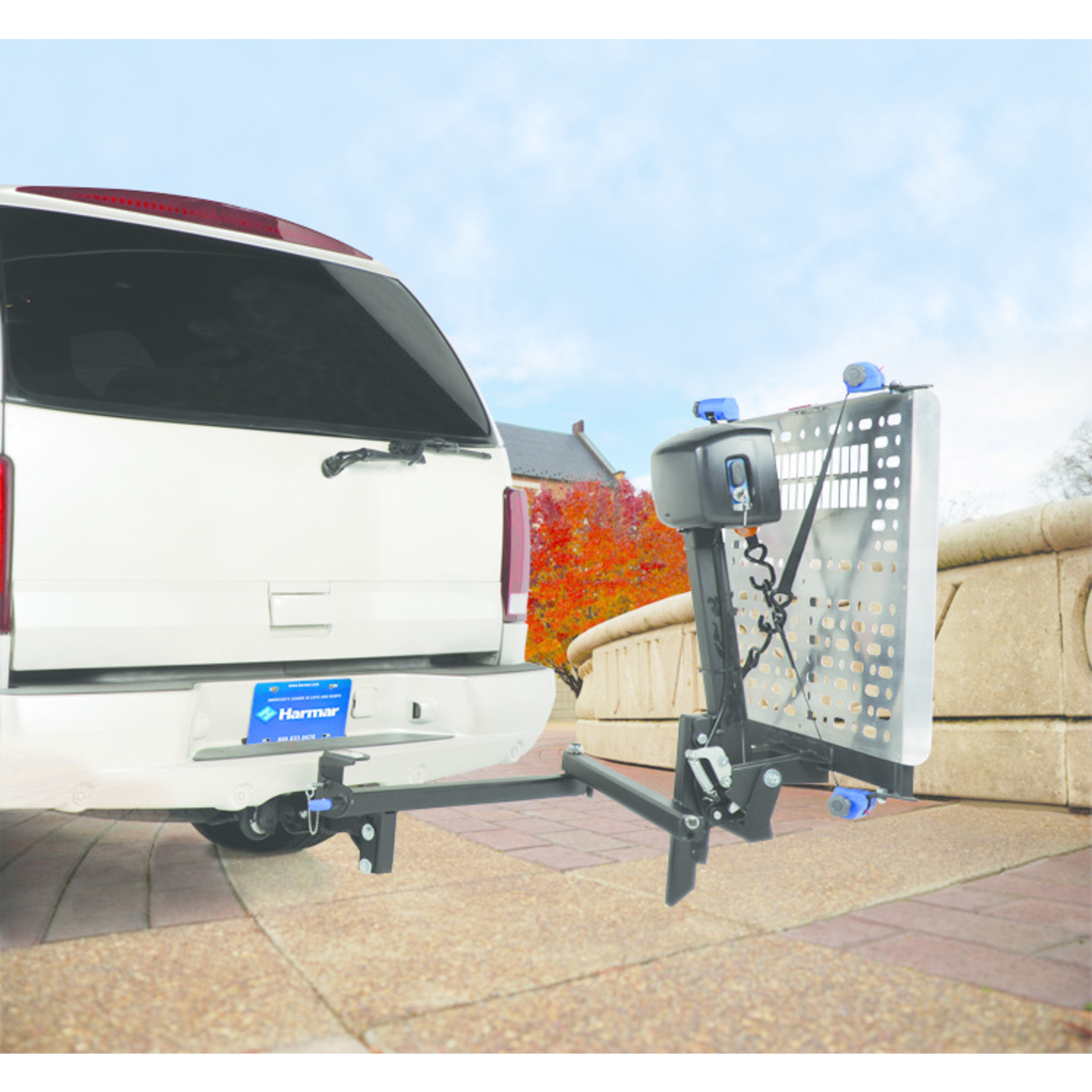 Harmar Mobility AL500HD Heavy Duty Univeral Power Wheelchair Lift