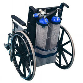 EZ Access EZ-ACCESSORIES® WHEELCHAIR OXYGEN CARRIER - DUAL TANK