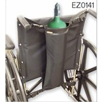 EZ Access EZ-ACCESSORIES® WHEELCHAIR OXYGEN CARRIER - SINGLE TANK