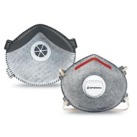 Particulate Respirator Mask North™ SAF-T-FIT Plus  N95 Cone Elastic Strap Medium / Large Gray NonSterile