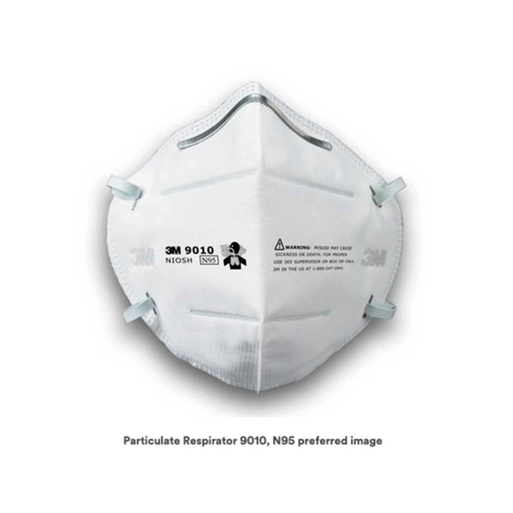 3M MASK, RESPIRATOR PARTICULATE N95