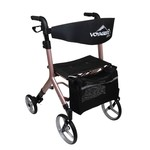 Voyager Euro Style Rollator  Rose Gold