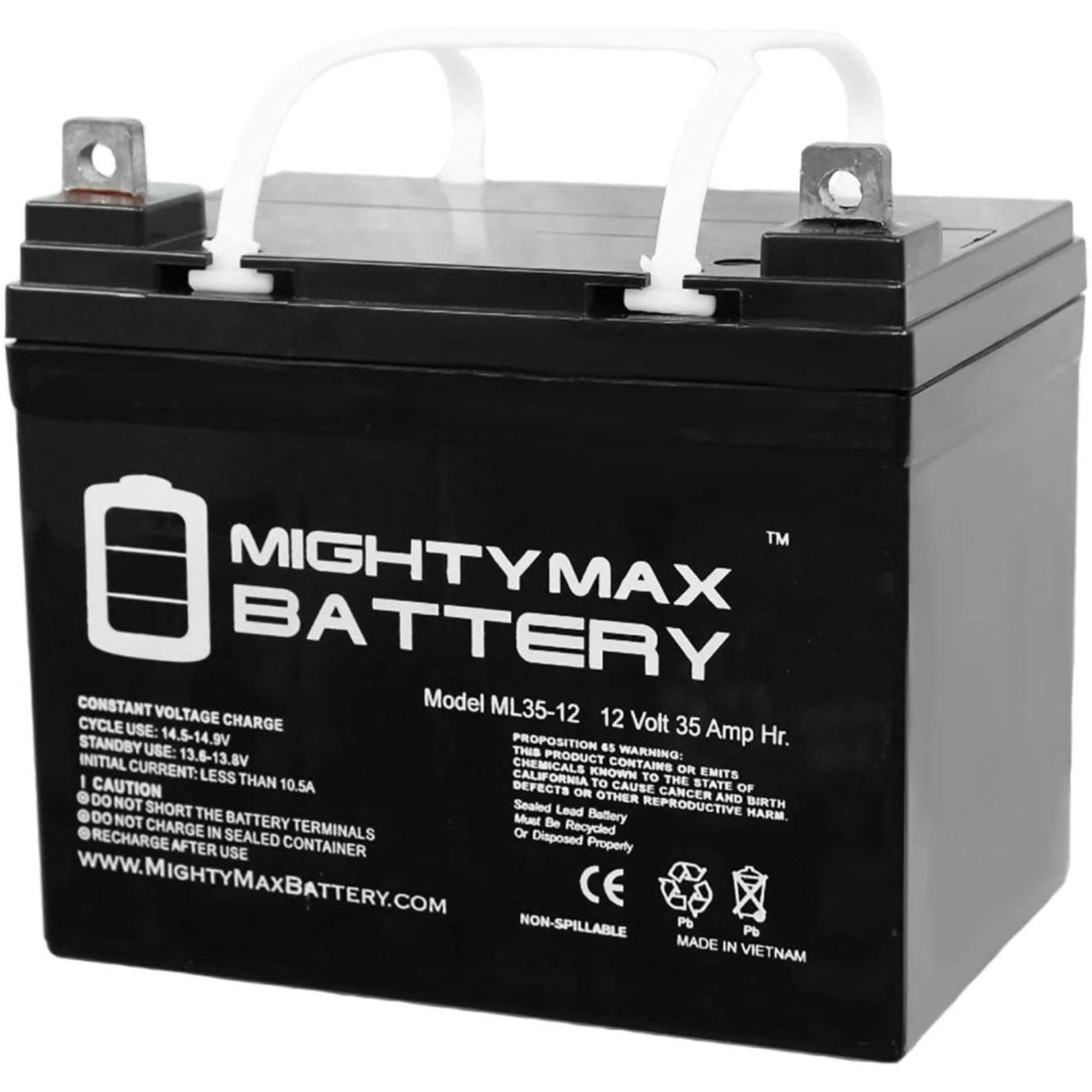 Mighty Max Battery 12 V 35 AH - U1