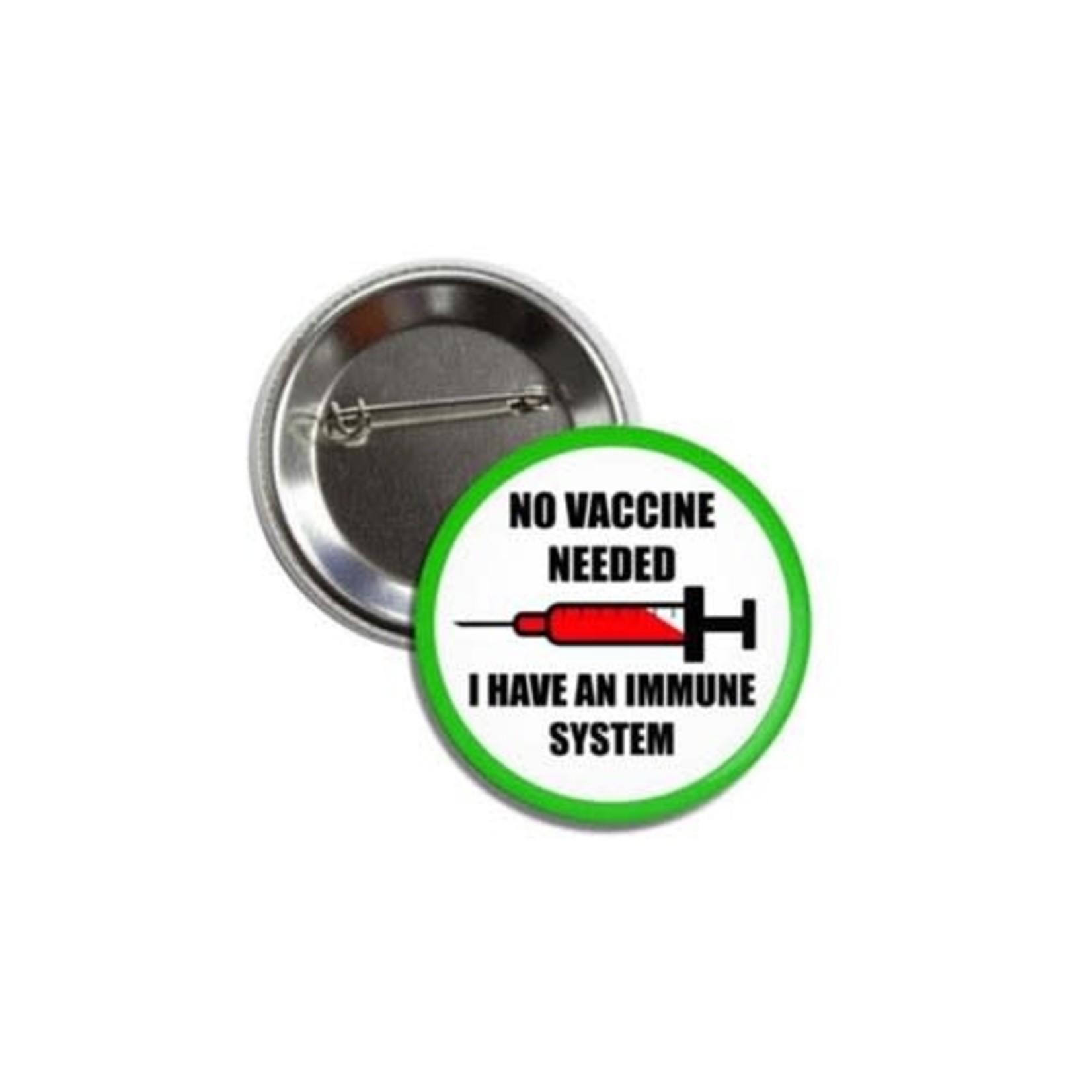 Pins: Anti-Vaccine Protest Pin