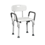 Probasics Shower Chair with Back and Arms