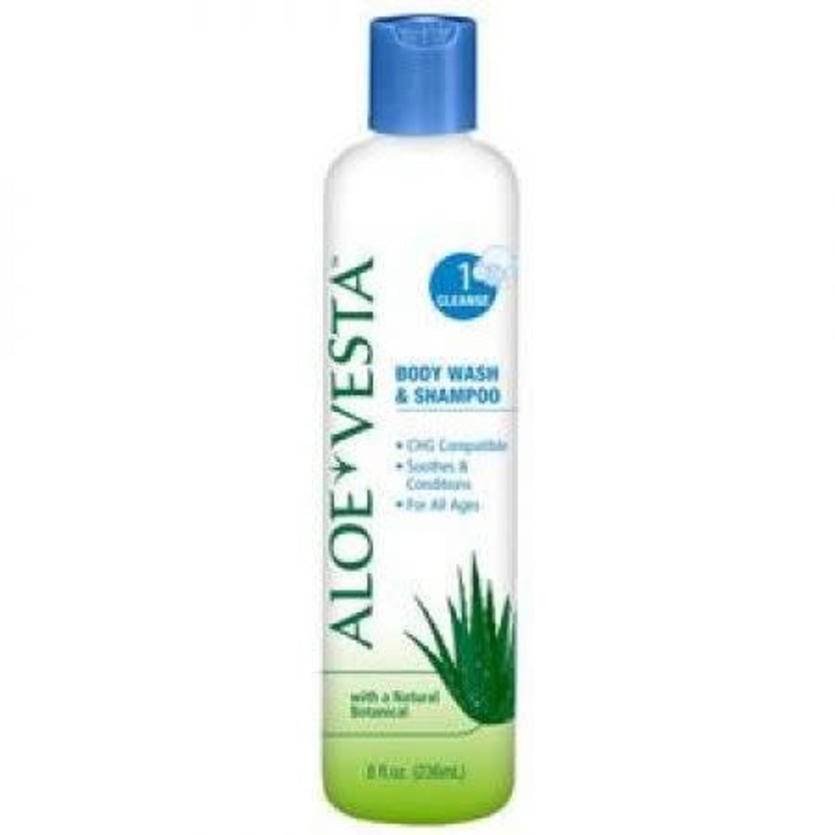 Flamingo Care Products Aloe Vesta - 2-in-1 Body Wash/Shampoo
