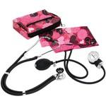 Prestige Medical Stethoscope Sprague Rappaport Pink Hearts Color