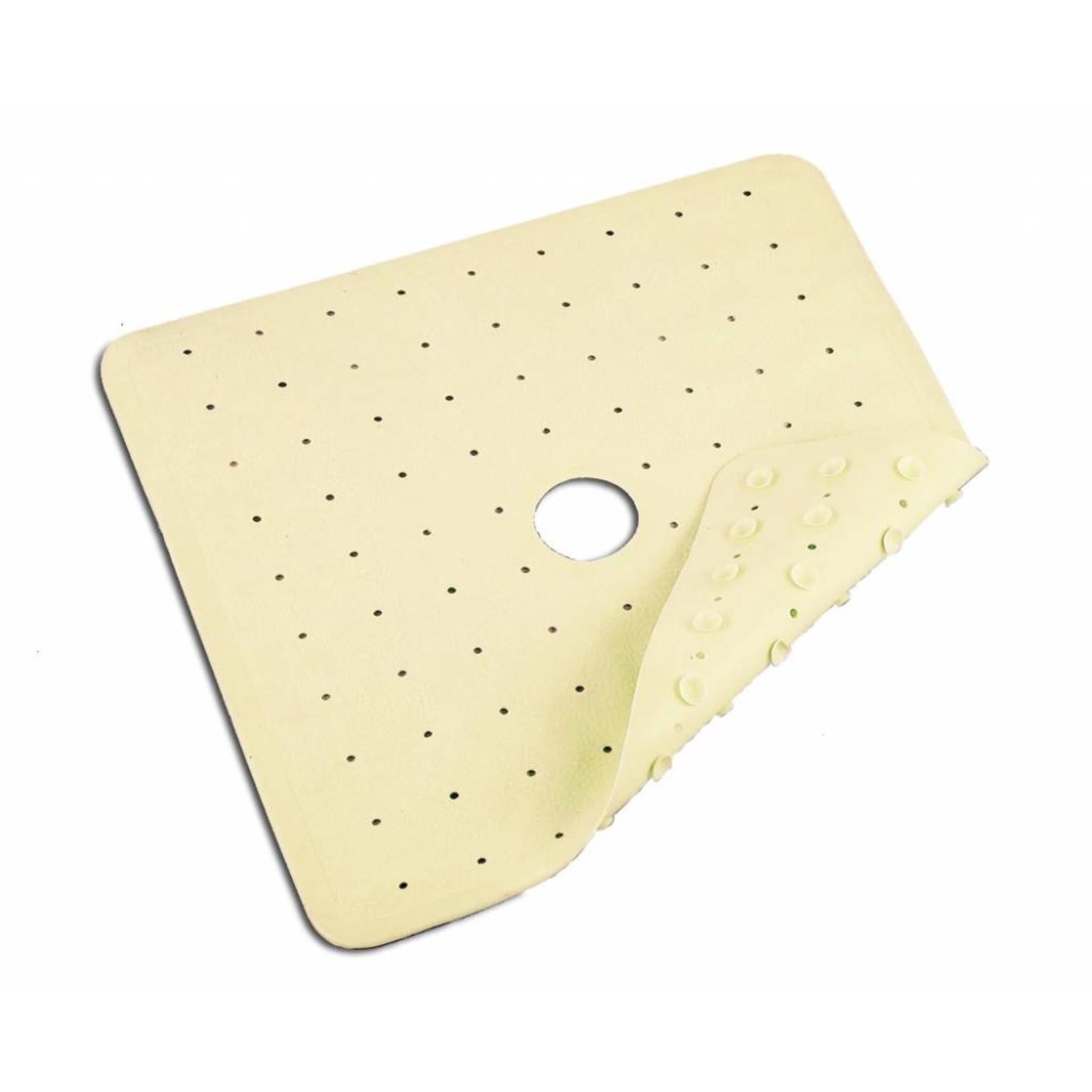 Essential Medical Bath Mat 20x20 Ctr Drain