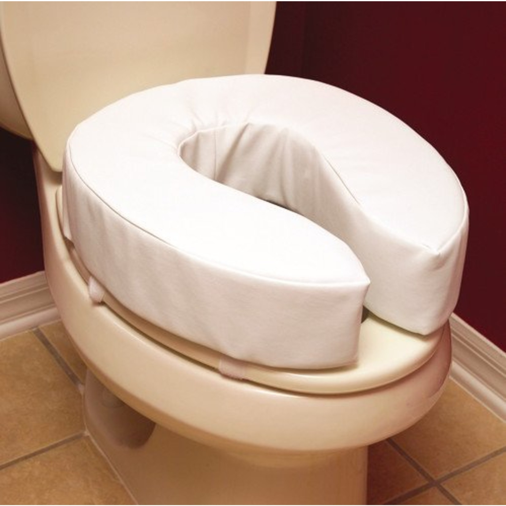 Essential Medical 4'' PADDED TOILET SEAT CUSHION