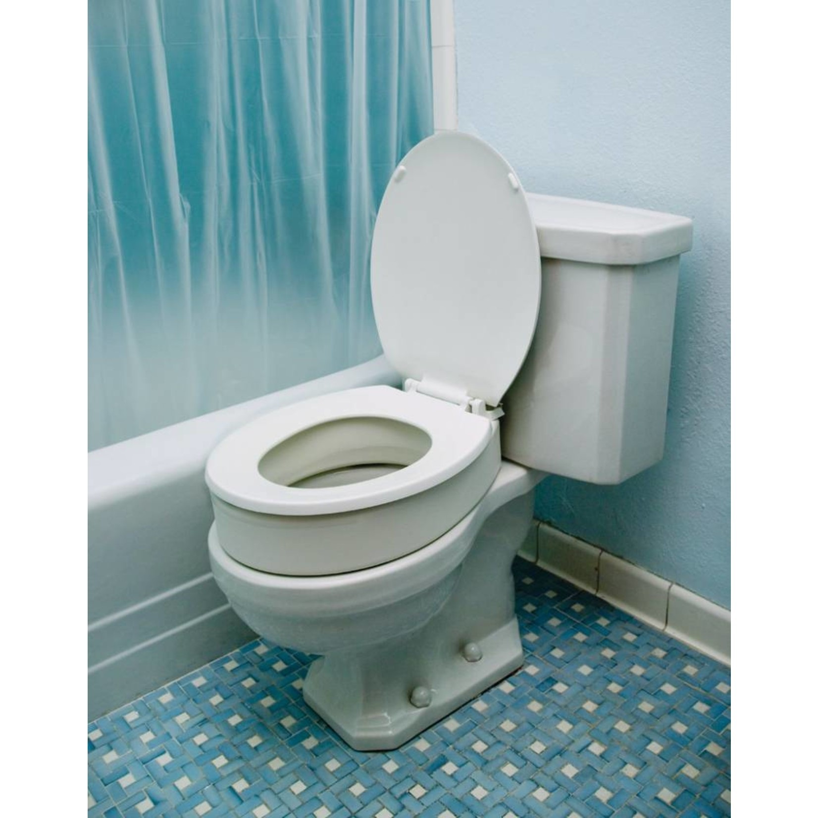 Essential Medical TOILET SEAT RISER ELONGATED