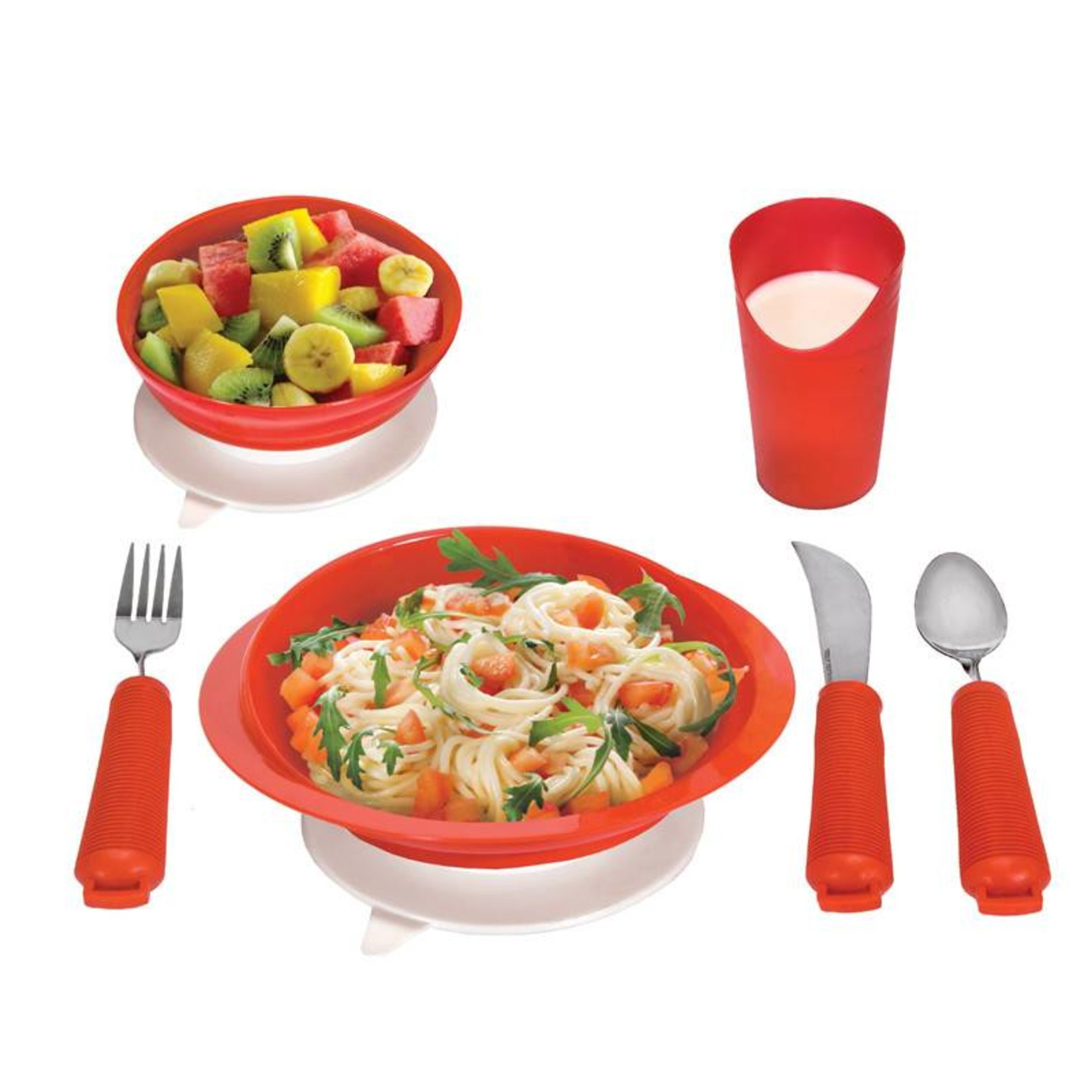 Essential Medical Table Setting  Set Red