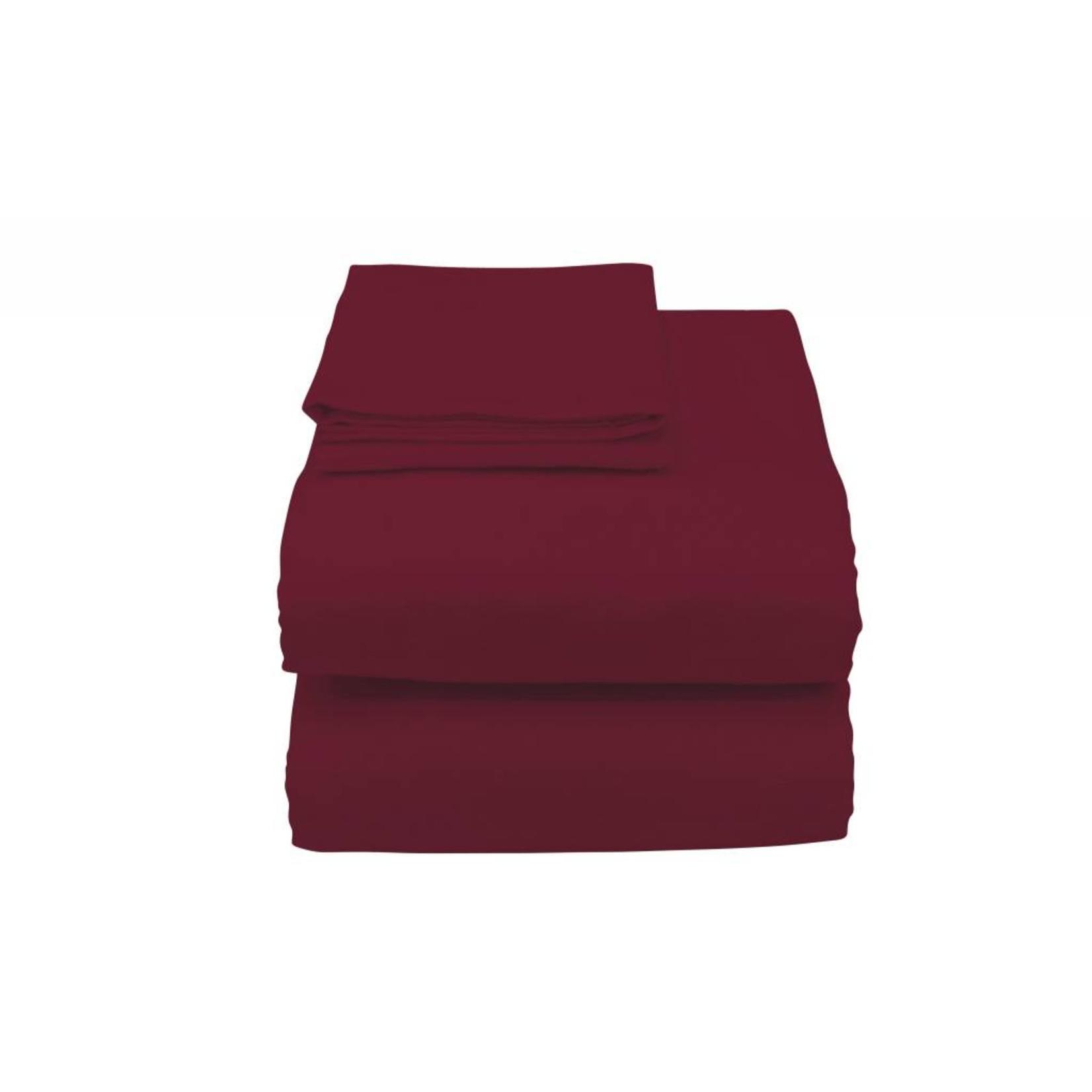Essential Medical Sheets-Cotton Burgundy