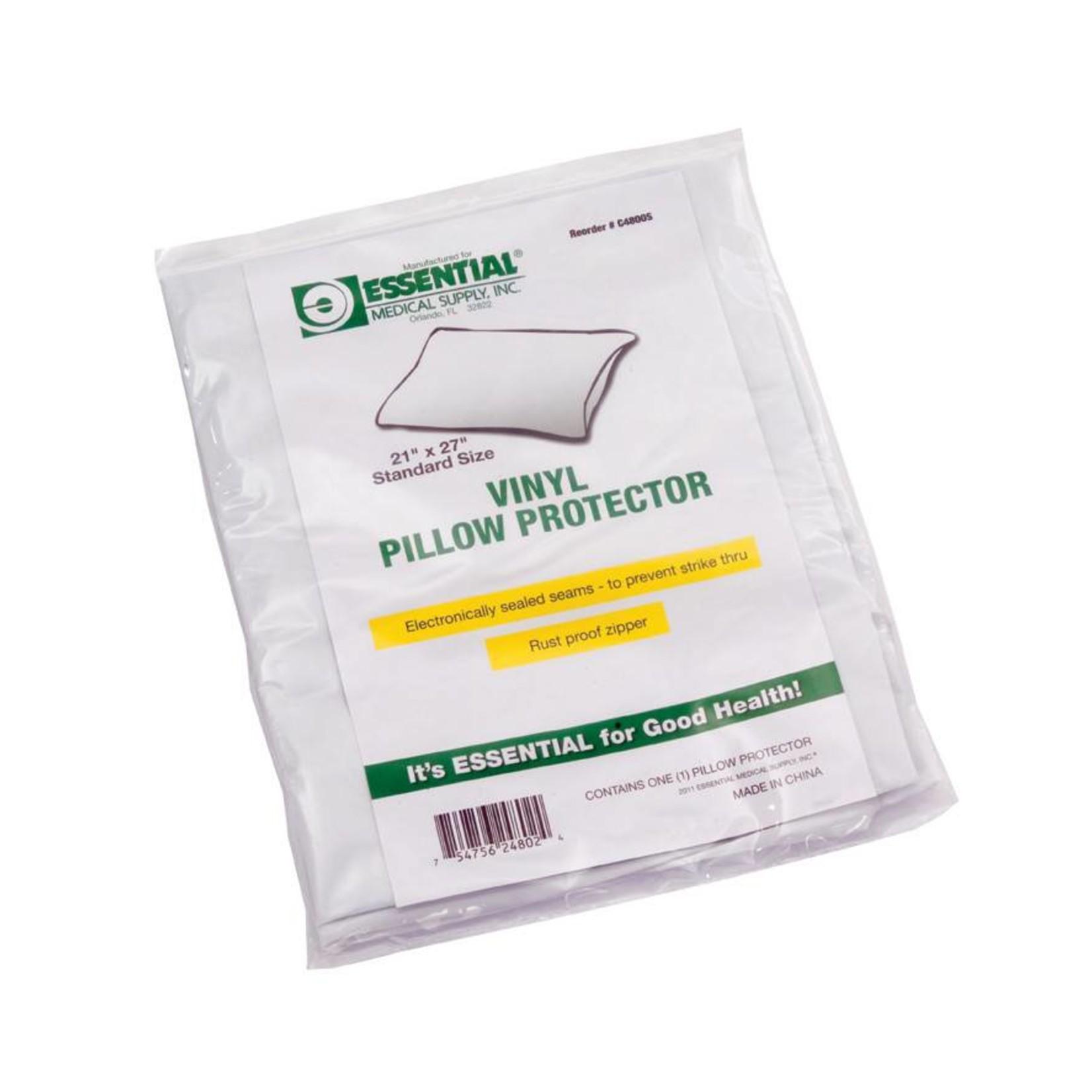 Essential Medical Vinyl Pillow Case-Standard
