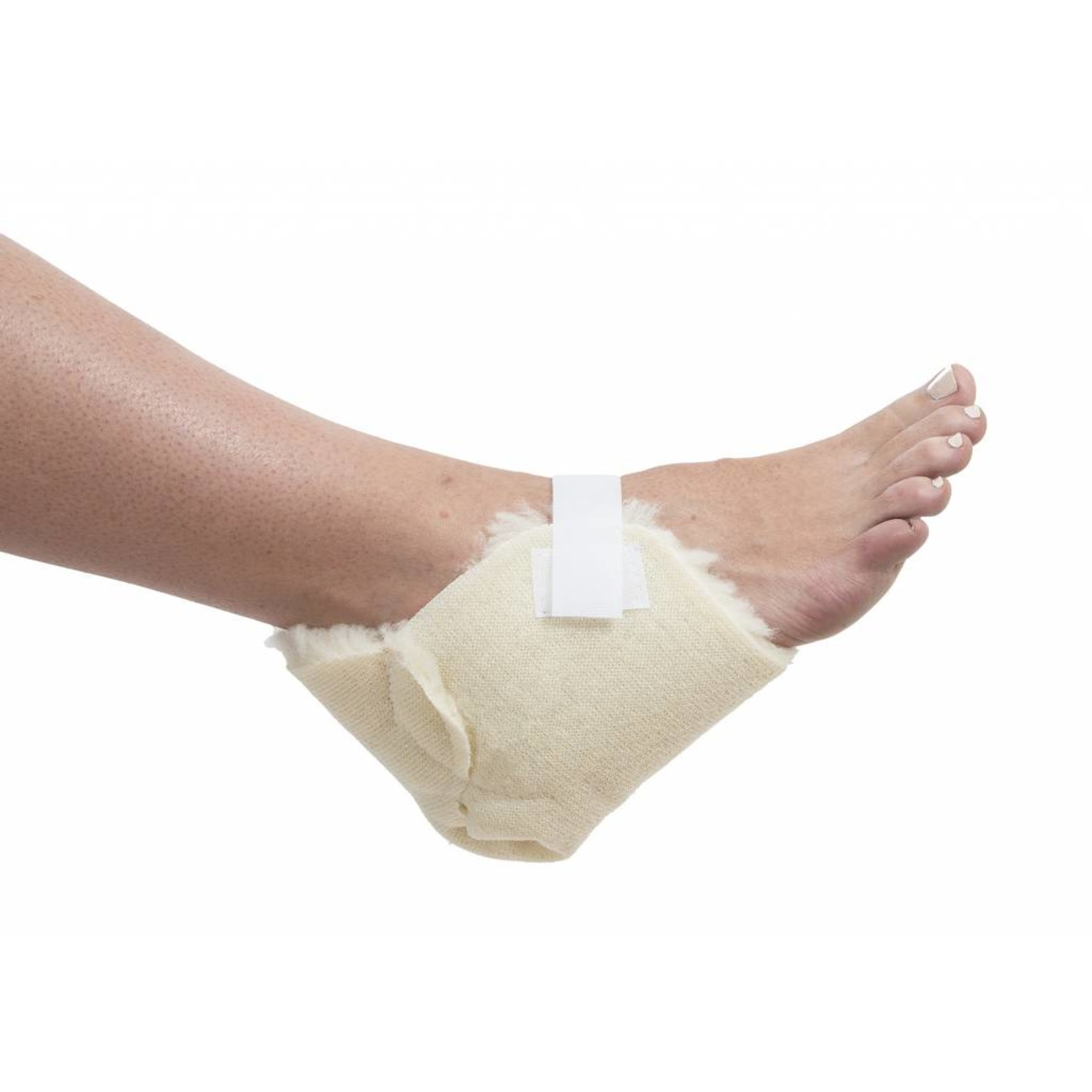 Essential Medical HEEL PROTECTOR SYNTH LAMBSKIN