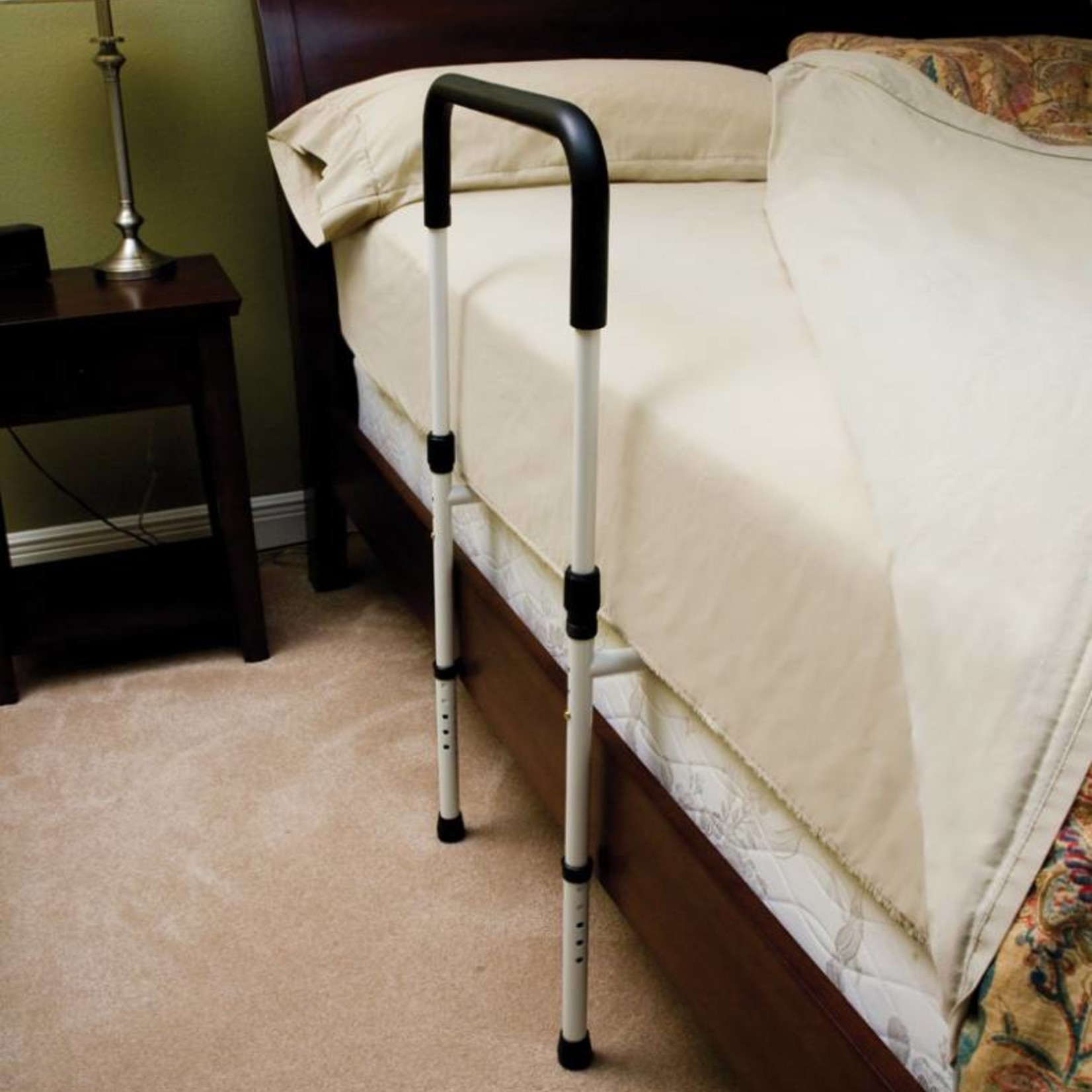 Essential Medical Bed Handle w/ Support 2 Floor