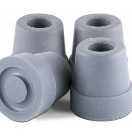 Essential Medical Cane Tip Quad 1/2'' Gray x4