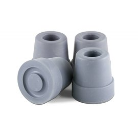 Essential Medical Cane Tip Quad 1/2'' Gray x4